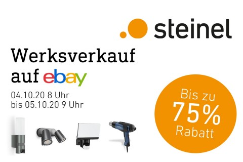 Digitales Shoppingevent bei STEINEL
