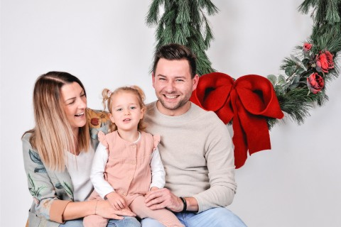 Christmas Mini Shooting bei Skupien Photography
